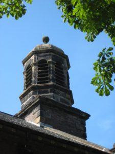 cupola with tower chime