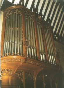 Pipe Organ St Peter's Formby