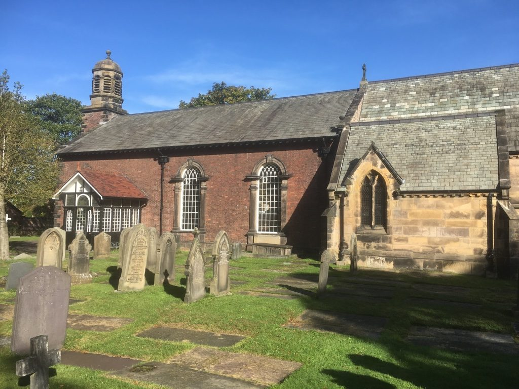 History St Peters Church Formby