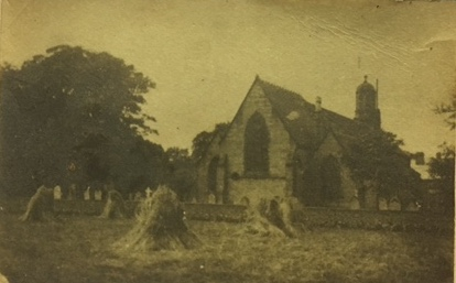 St Peters Church before churchyard extension