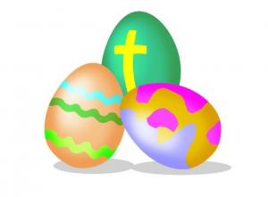 Sunday Club Easter Eggs