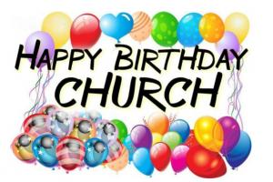 Pentecost - Happy Birthday Church image