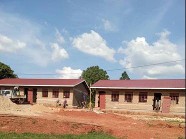 Hostel blocks at the Uganda Project